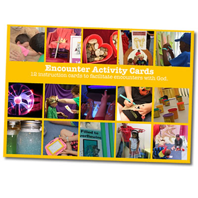 Encounter Activity Cards Orange Set