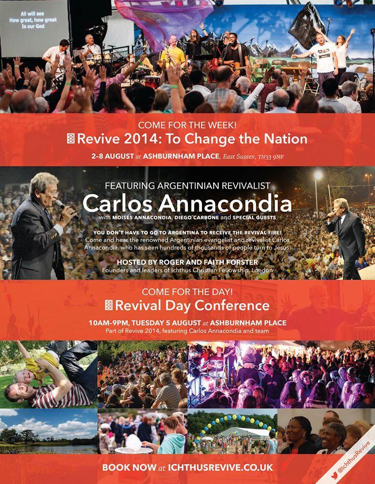 Revive 2014 Carlos Annacondia