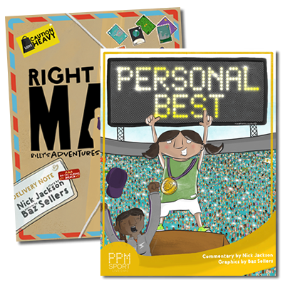 Right Hand Man & Personal Best (Both books for £15)